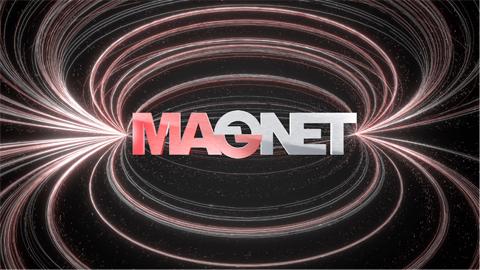 Magnetモーションロゴ 演出を担当しました